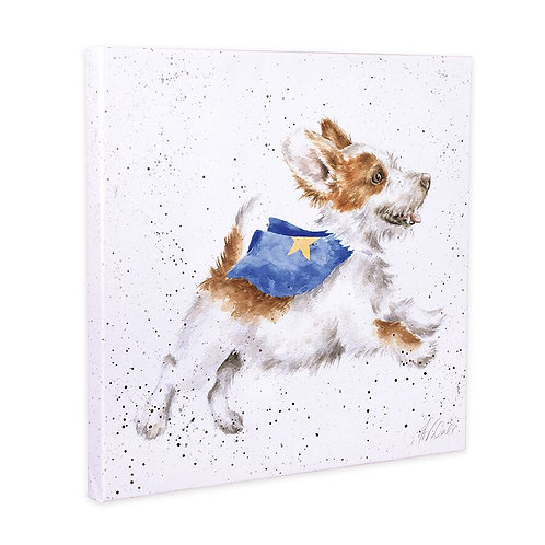 Wrendale Canvas - Super Dog
