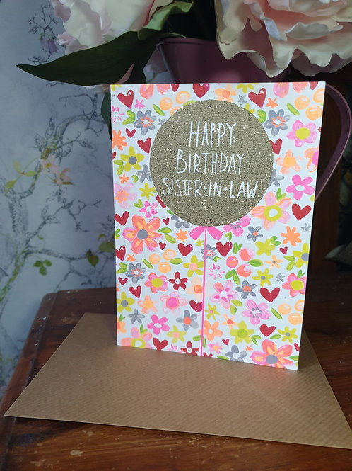 Happy Birthday Sister-In-Law Card