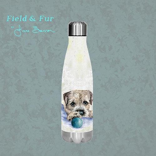 Boarder Terrier 500ml Double Wall Insulated Bottle