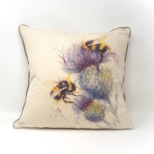 Bee Cushion by Jane Bannon