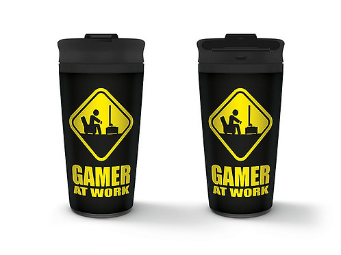 Gamer At Work Travel Mug
