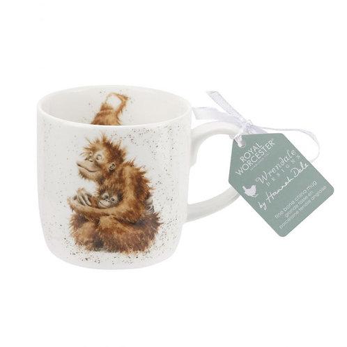 Wrendale Royal Worcester Orang-utan Mug