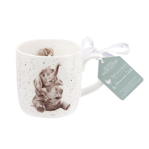 Wrendale Royal Worcester Elephant Mug