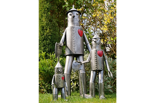 Tin Man Garden Ornament