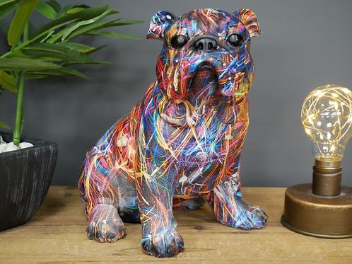 Bulldog Medium Statue **Please Read Listing**