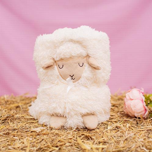 Lamb Baby Blanket **Please Read Listing**