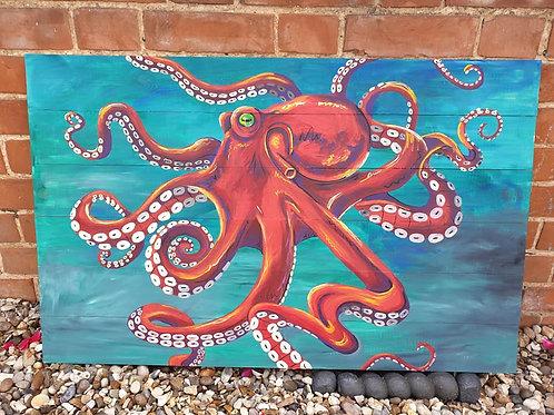 Flaming Octopus Original