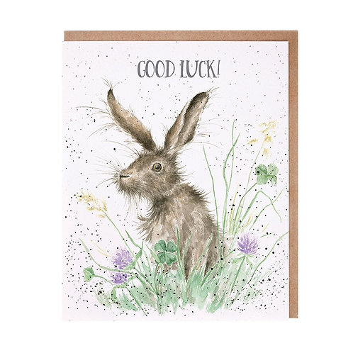 Wrendale Good Luck Card