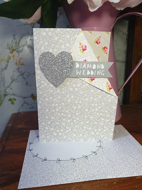 Diamond Anniversary Card