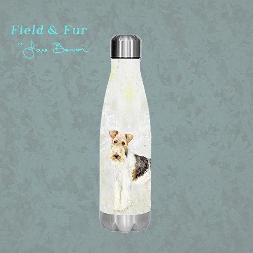 Fox Terrier 500ml Double Wall Insulated Bottle
