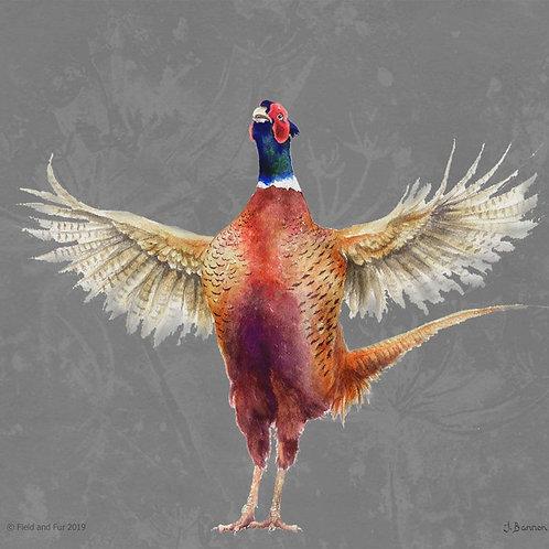 Pheasant Glass Worktop Saver