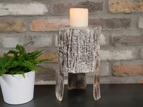 Reclaimed Wood Candle Holder **Please Read Listing**