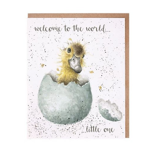 Wrendale Welcome To The World Card