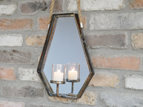 Charmed Mirror Candle Holder **Please Read Listing**