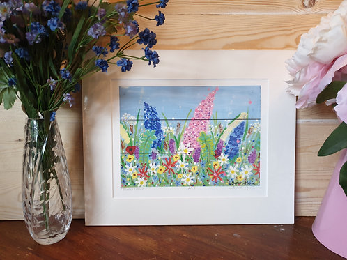 Meadow Flowers Print