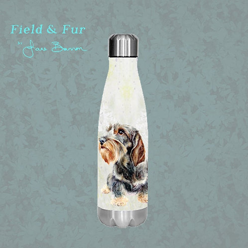 Wire Haired Dachshund 500ml Double Wall Insulated Bottle