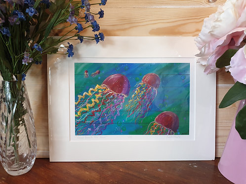 Colour Beneath The Waves Print