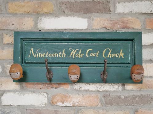 Vintage Golf Club Hooks **Please Read Listing**
