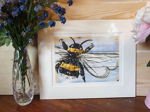 Two Bee Print