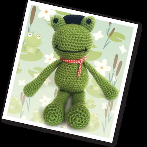 Crochet Frankie The Frog Kit