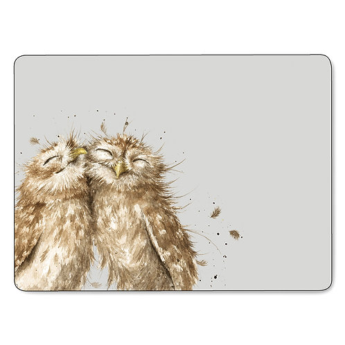Pre order Wrendale Owl Placemats/Coasters