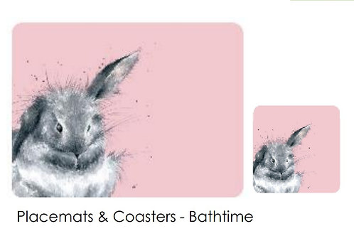 Pre order Wrendale Bunny Placemats/Coasters