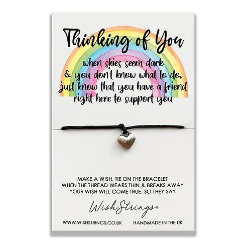 Rainbow Card Wish Bracelet