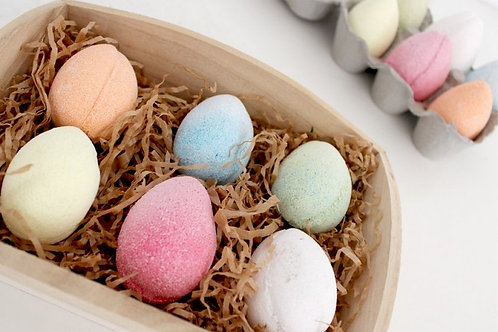 Magic Egg Bath Bombs (Packs of 6)