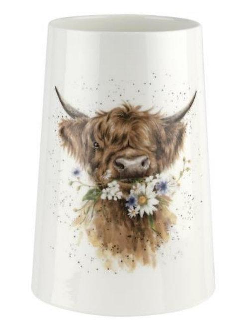 Pre order Wrendale Vase - Cow