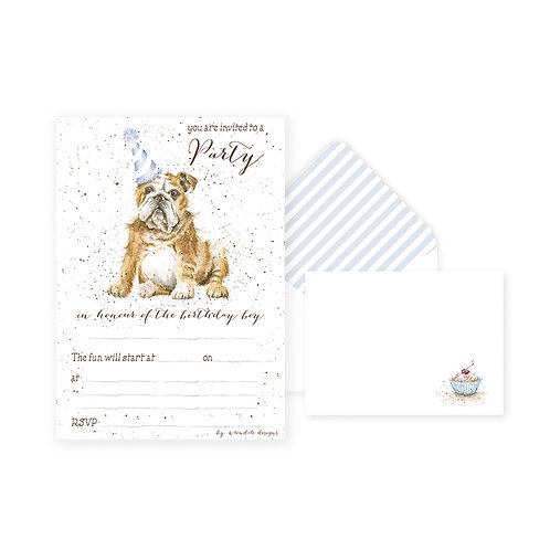 Wrendale Dog Party Invitations