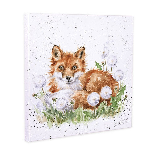 Wrendale Canvas - The Dandy Fox