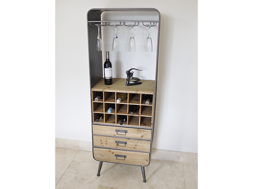 Industrial Retro Style Wine & Drinks Cabinet **Please Read Listing**
