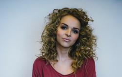 model photoshoot makeup