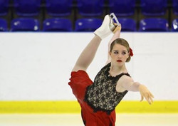 ice skating makeup