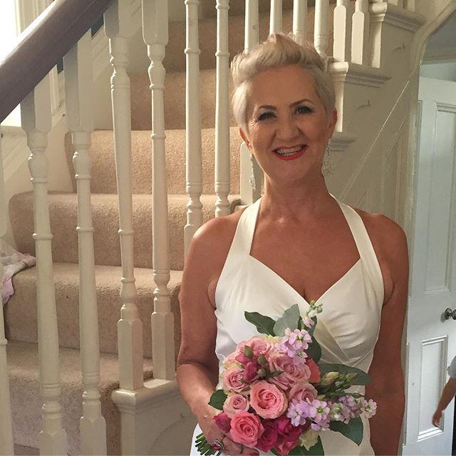 makeup for mature bride