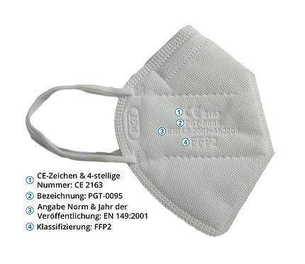 FFP2-Schutzmaske CE-zertifiziert
