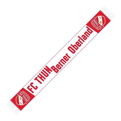 FC Thun Berner Oberland Strickschal