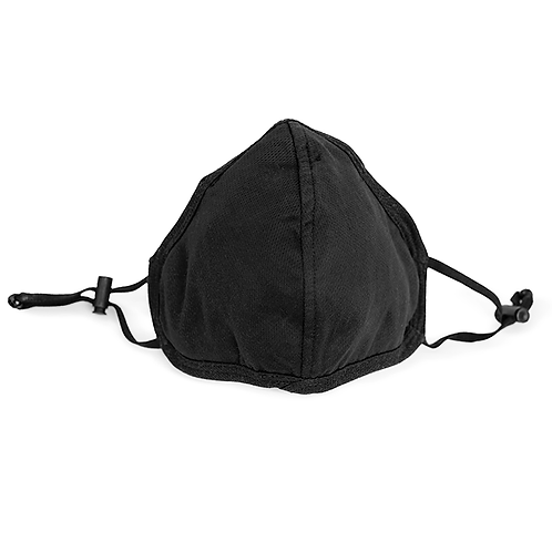 PM30 Stoffmaske schwarz