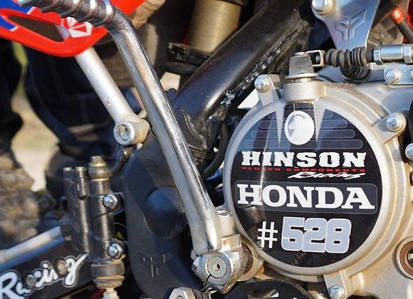 sticker 475M pour Carter moteur Pitbike