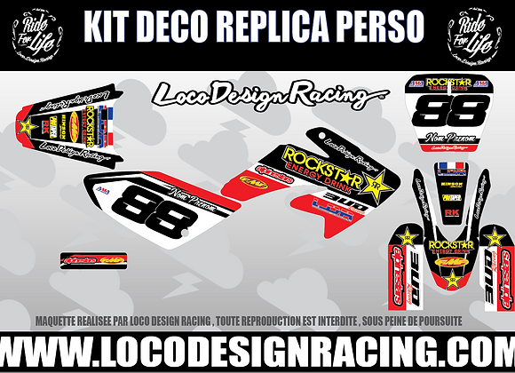 2- KIT DECO REPLICA PERSO ( CRF 70 /  RFZ )