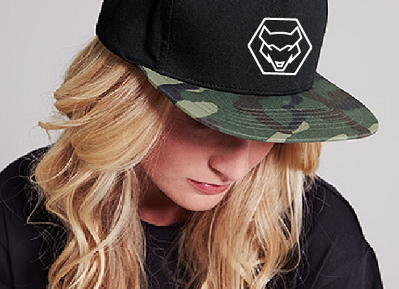 CASQUETTE SNAPBACK  WOLF LDR.