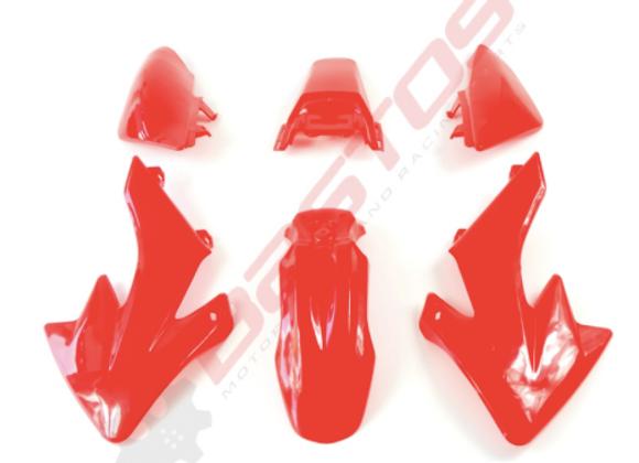 KIT PLASTIQUE TYPE CRF 50 ( couleurs au choix)