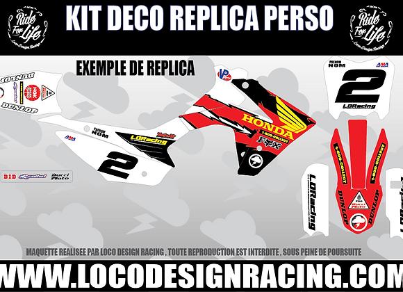 KIT DECO REPLICA Mc GRATH (CRF110)