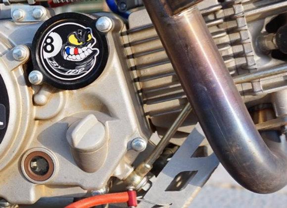 sticker 475M pour Carter HUILE moteur Pitbike