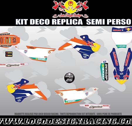 KIT DECO REPLICA MUSQUIN KTM (YCF)