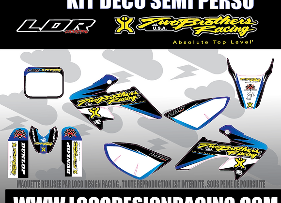 KIT DECO TWO BROTHERS OLD SCHOOL  (CRF50)