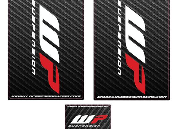 Stickers de fourche Tour complet x2 MOTOCROSS