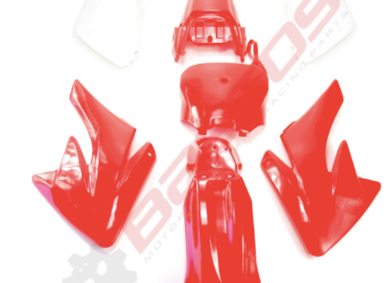 KIT PLASTIQUE TYPE CRF 70 ( couleurs au choix )