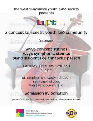 """LIFT"" WVYB Strings Charity Concert"