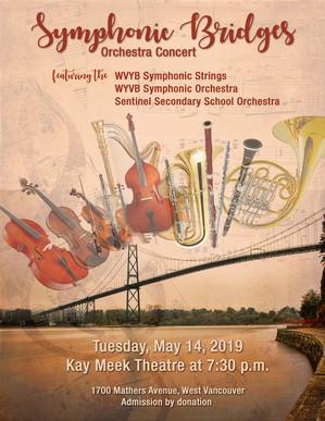 """""""Symphonic Bridges"""" Ochestra Concert"""